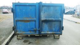 Двадцати кубовый контейнер для мусора