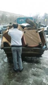Погрузка мебели и мусора