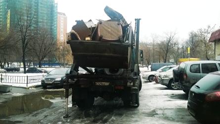 вывоз бытовых отходов и мусора
