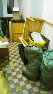 Упаковка мусора